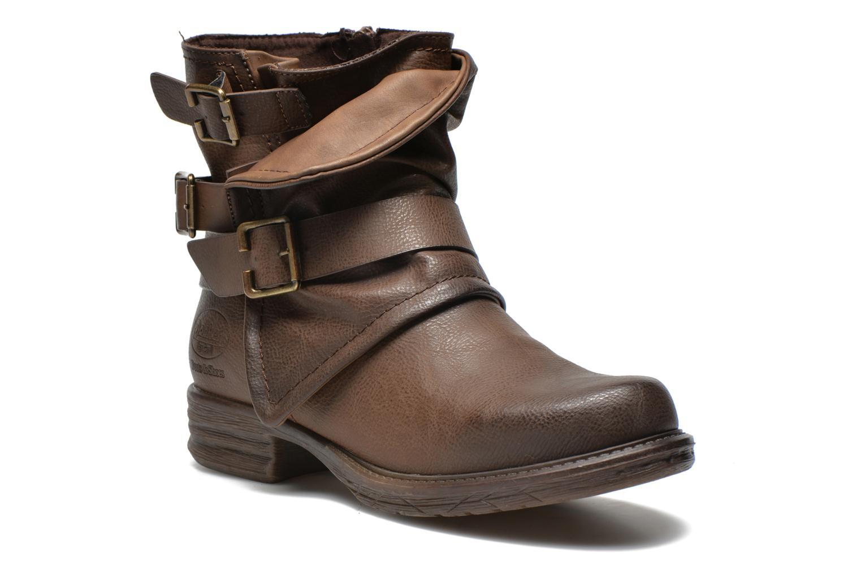 Bottines et boots Dockers Trice Marron vue détail/paire