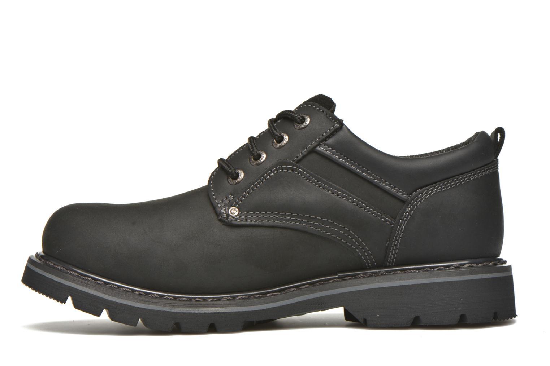 Chaussures à lacets Dockers Vinc Noir vue face