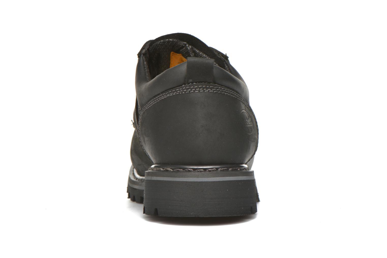 Chaussures à lacets Dockers Vinc Noir vue droite