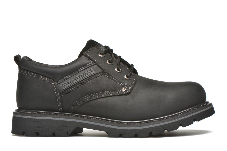Chaussures à lacets Dockers Vinc Noir vue derrière