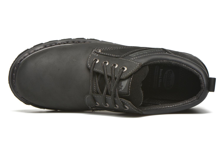 Chaussures à lacets Dockers Vinc Noir vue gauche