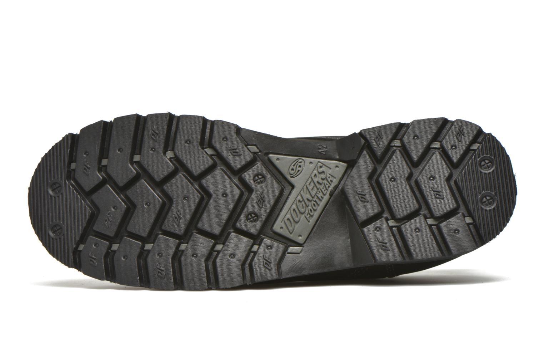 Chaussures à lacets Dockers Vinc Noir vue haut