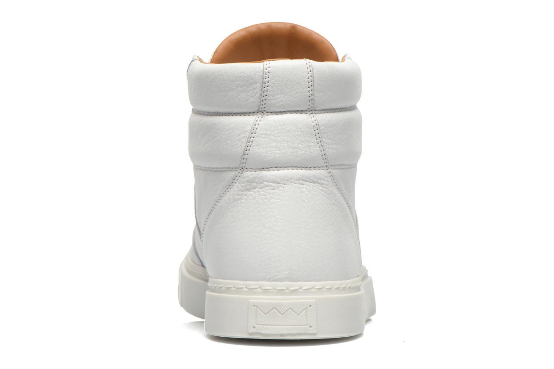 Baskets Marc Jacobs Runrun Blanc vue droite