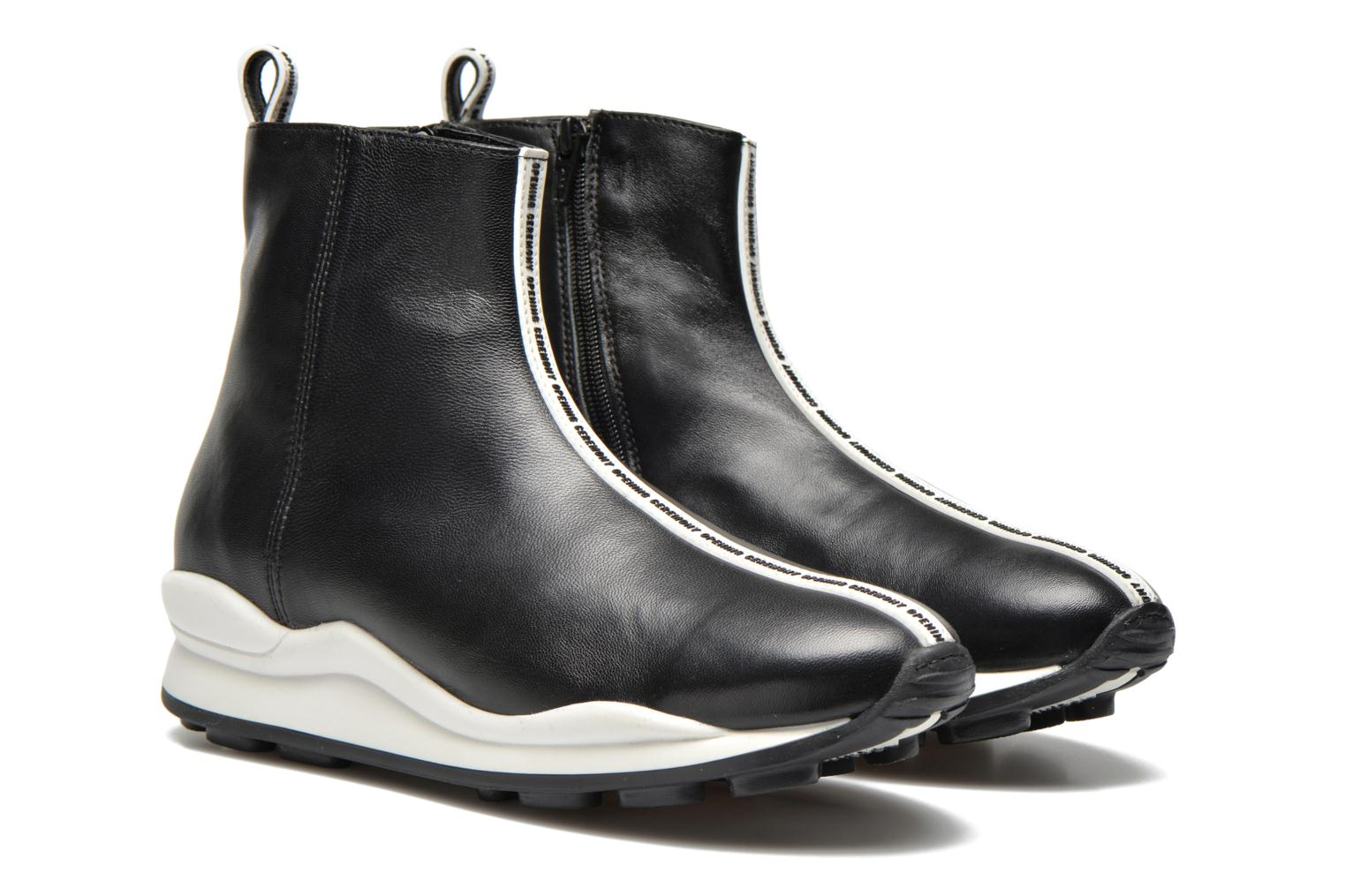Bottines et boots Opening Ceremony OC Sneaker Boot Noir vue 3/4