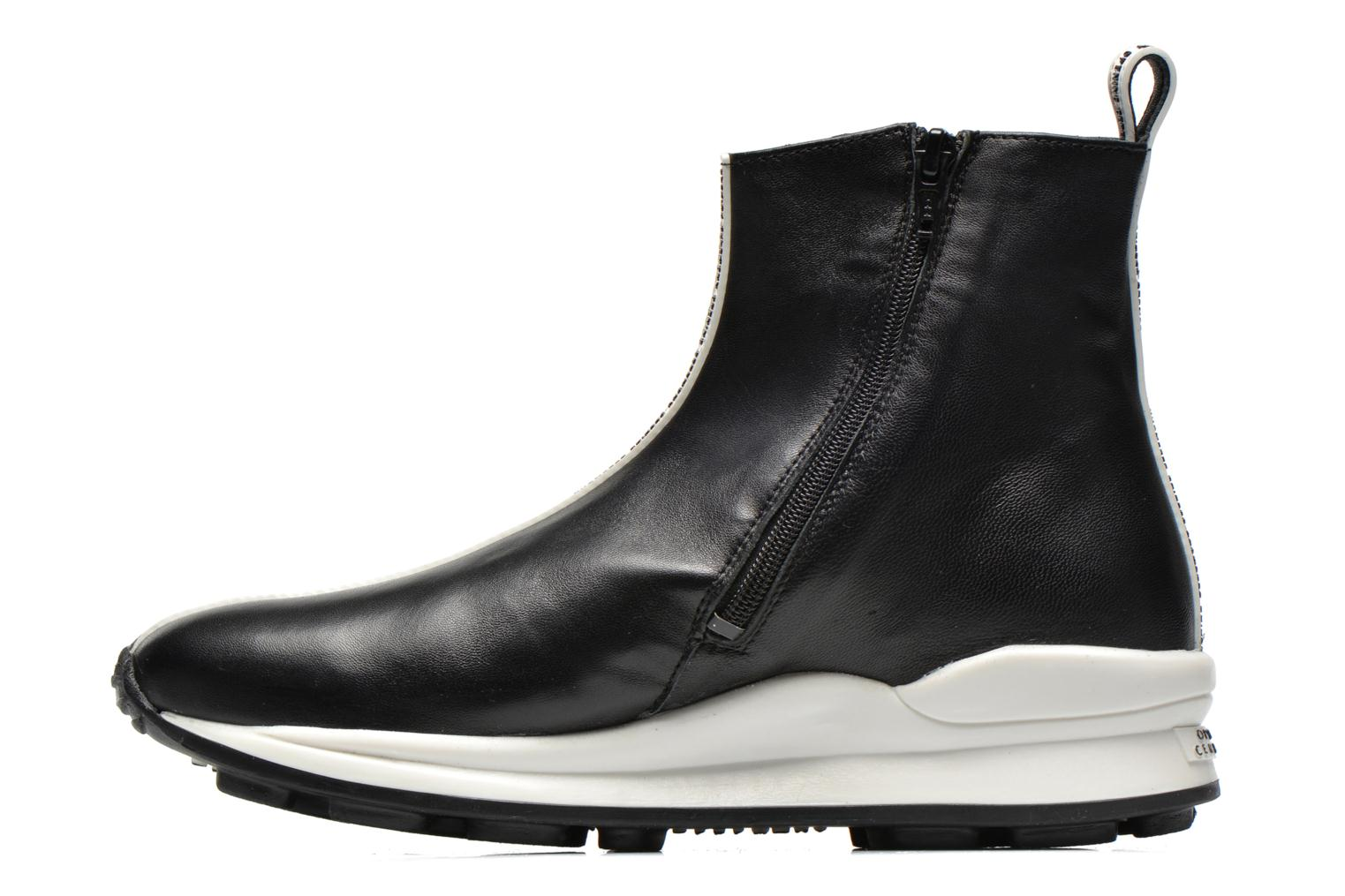 Bottines et boots Opening Ceremony OC Sneaker Boot Noir vue face