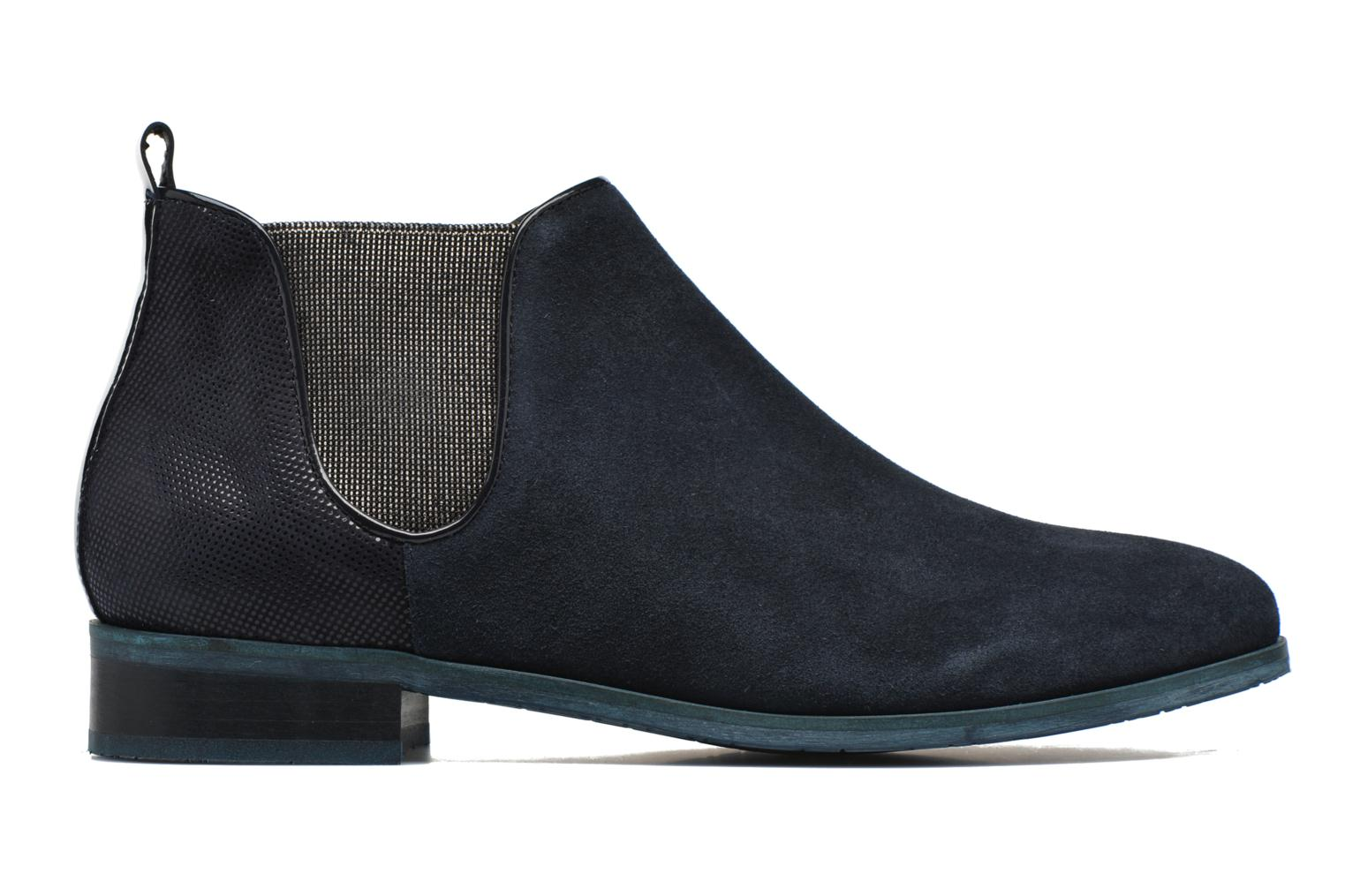 Ankle boots HE Spring Eva Blue back view