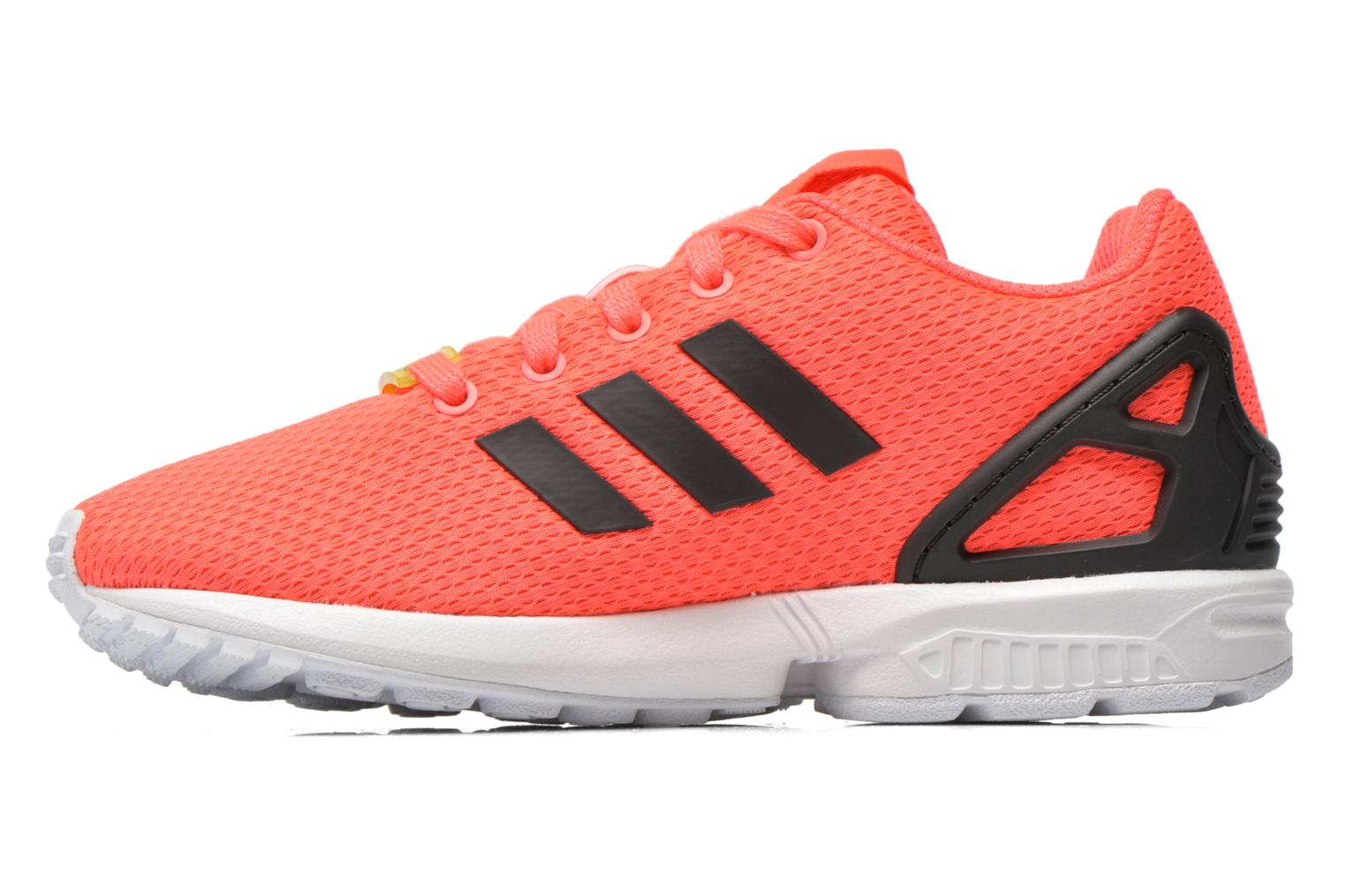 Baskets Adidas Originals Zx Flux K Rose vue face