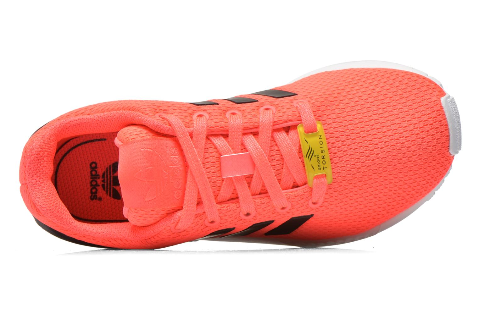 Trainers Adidas Originals Zx Flux K Pink view from the left