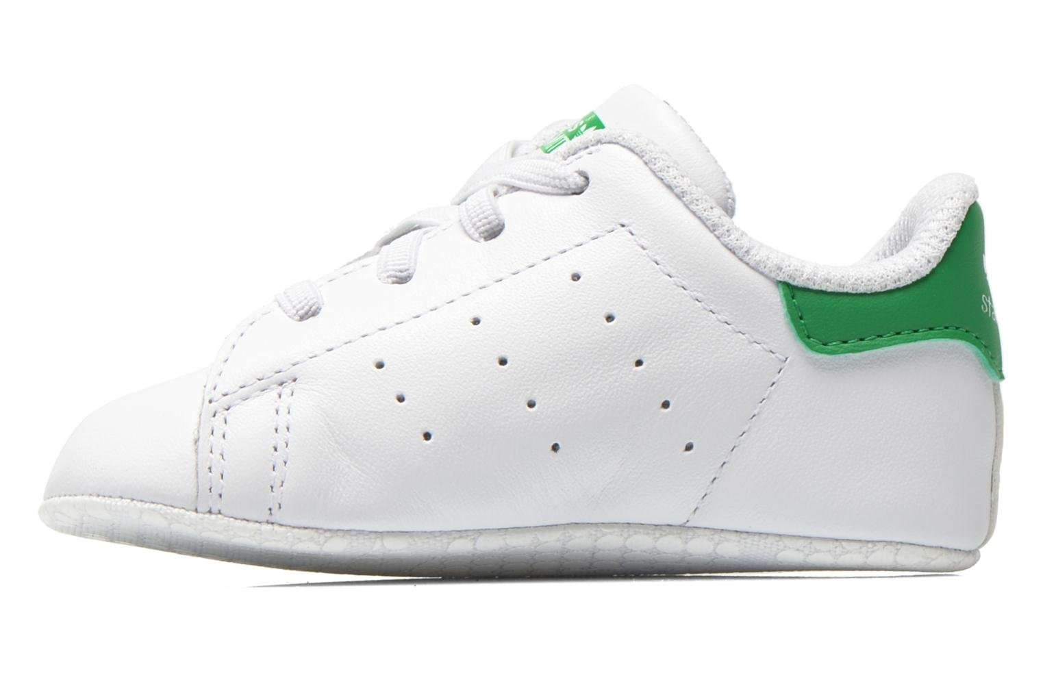 Trainers Adidas Originals Stan Smith Crib White front view