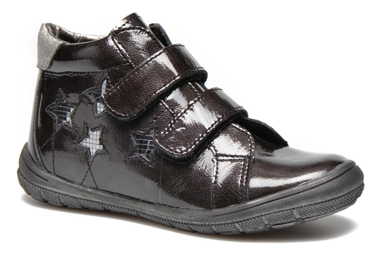 Chaussures à scratch Bopy Satuvel Noir vue détail/paire