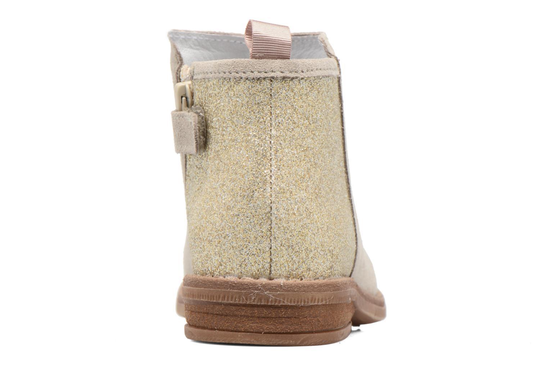 Bottines et boots Acebo's Olivia Beige vue droite