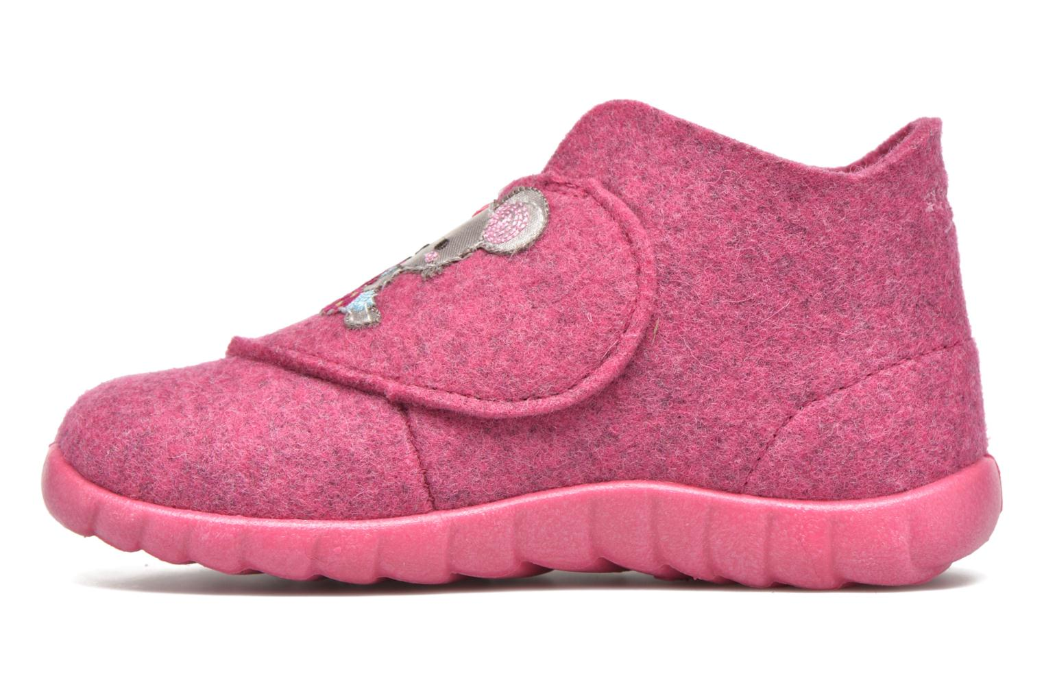 Chaussons Superfit Happy Rose vue face
