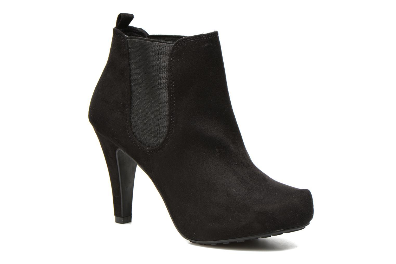 Bottines et boots Marco Tozzi Oracle Noir vue détail/paire