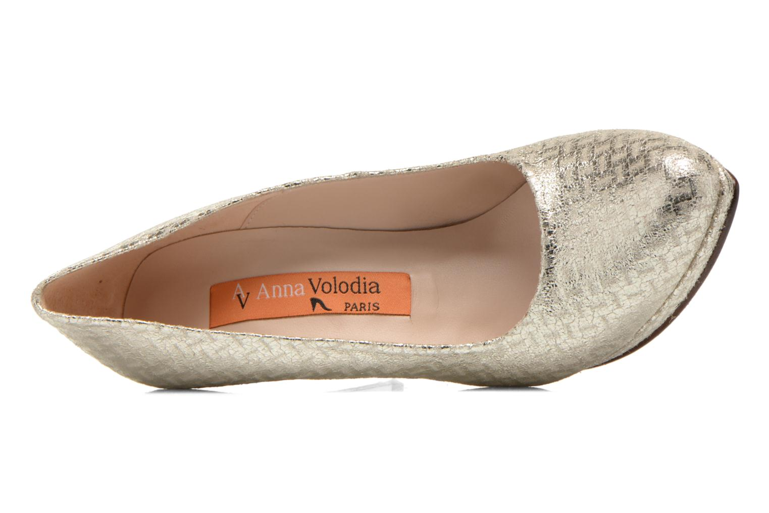 Pumps Anna Volodia Copla gold/bronze ansicht von links
