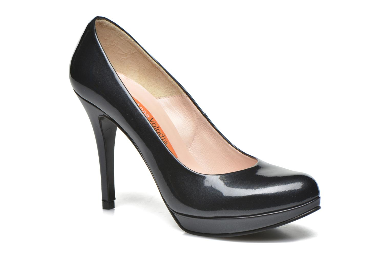 High heels Anna Volodia Copla Black detailed view/ Pair view