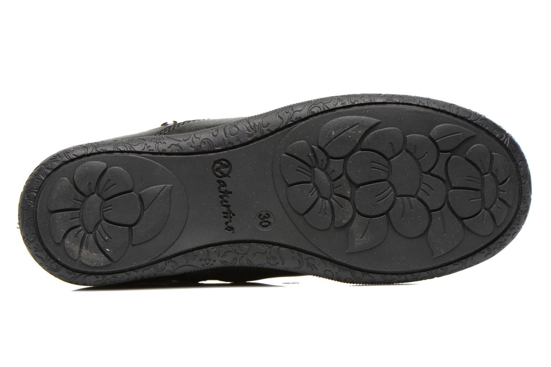 Bottines et boots Naturino Adelina 4043 Noir vue haut