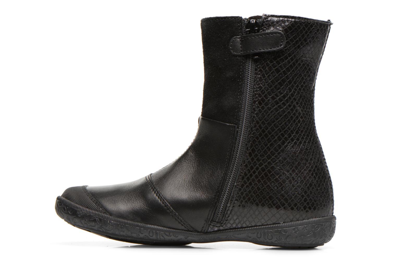 Bottines et boots Naturino Adela 4045 Noir vue face