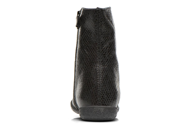 Bottines et boots Naturino Adela 4045 Noir vue droite