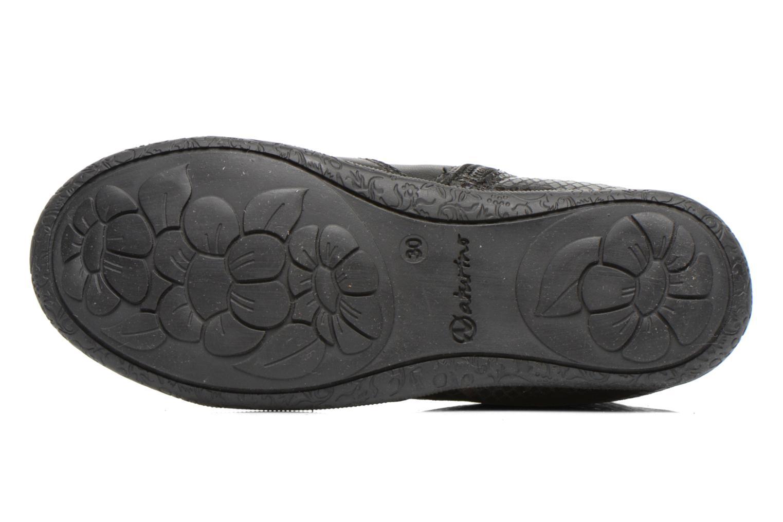Bottines et boots Naturino Adela 4045 Noir vue haut