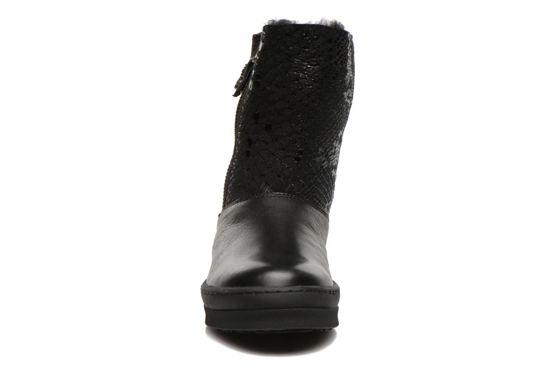 Bottes Unisa Caterina Noir vue portées chaussures