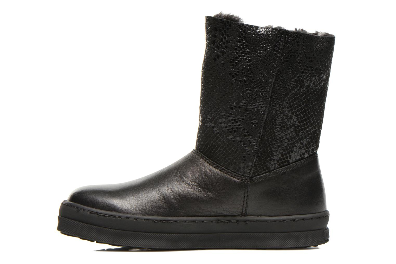Boots & wellies Unisa Caterina Black front view