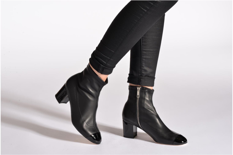 Bottines et boots L.K. Bennett Kelly I Noir vue bas / vue portée sac