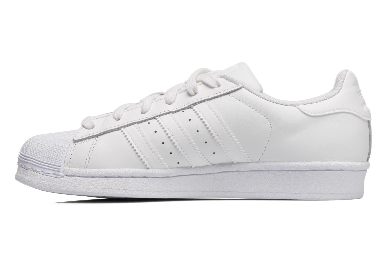 Trainers Adidas Originals Superstar Foundation W White front view