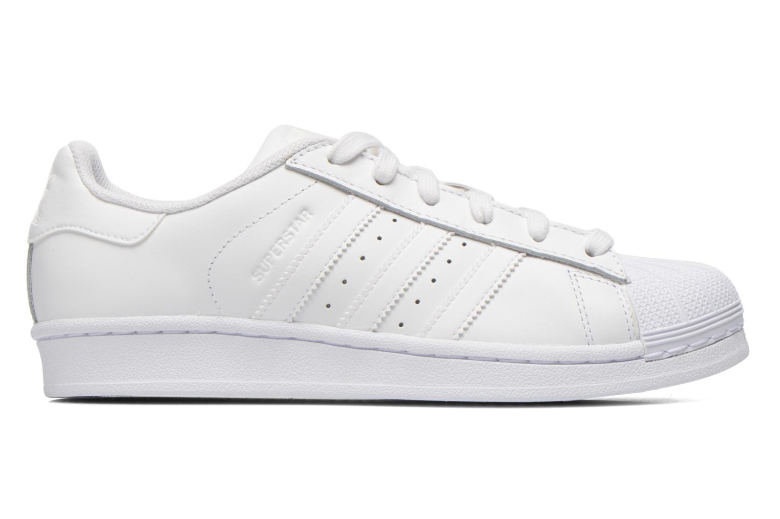 Baskets Adidas Originals Superstar Foundation W Blanc vue derrière