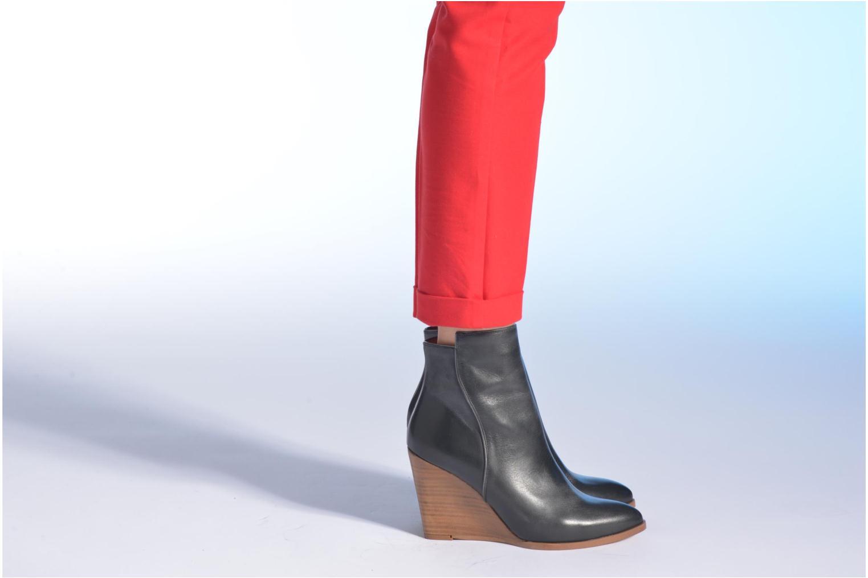 Bottines et boots Made by SARENZA Toundra Girl Bottines à Talons #12 Noir vue bas / vue portée sac