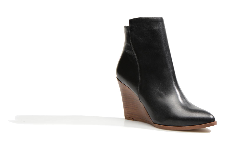 Bottines et boots Made by SARENZA Toundra Girl Bottines à Talons #12 Noir vue droite