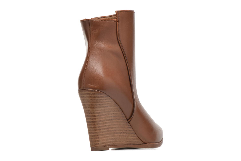 Bottines et boots Made by SARENZA Toundra Girl Bottines à Talons #12 Marron vue face