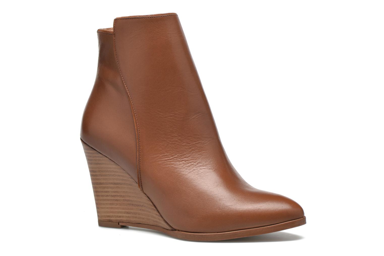 Bottines et boots Made by SARENZA Toundra Girl Bottines à Talons #12 Marron vue droite