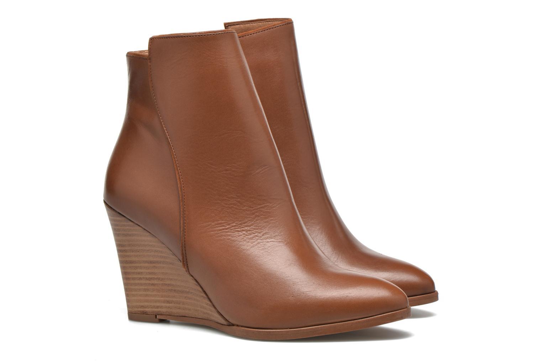 Bottines et boots Made by SARENZA Toundra Girl Bottines à Talons #12 Marron vue derrière