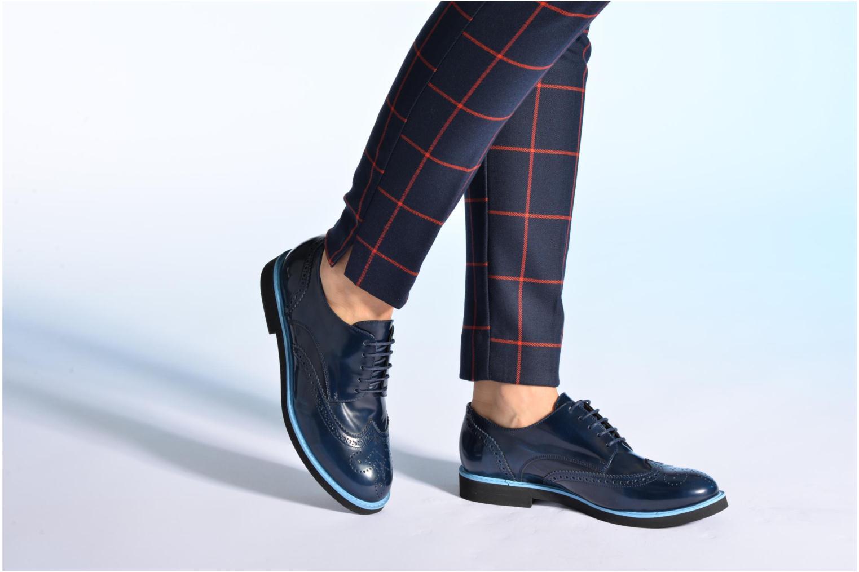 Zapatos con cordones Made by SARENZA Partygloo #3 Azul vista de abajo