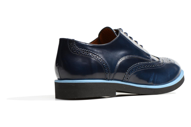 Zapatos con cordones Made by SARENZA Partygloo #3 Azul vista de frente