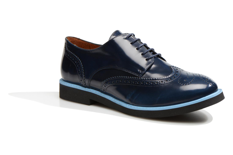 Zapatos con cordones Made by SARENZA Partygloo #3 Azul vista lateral derecha
