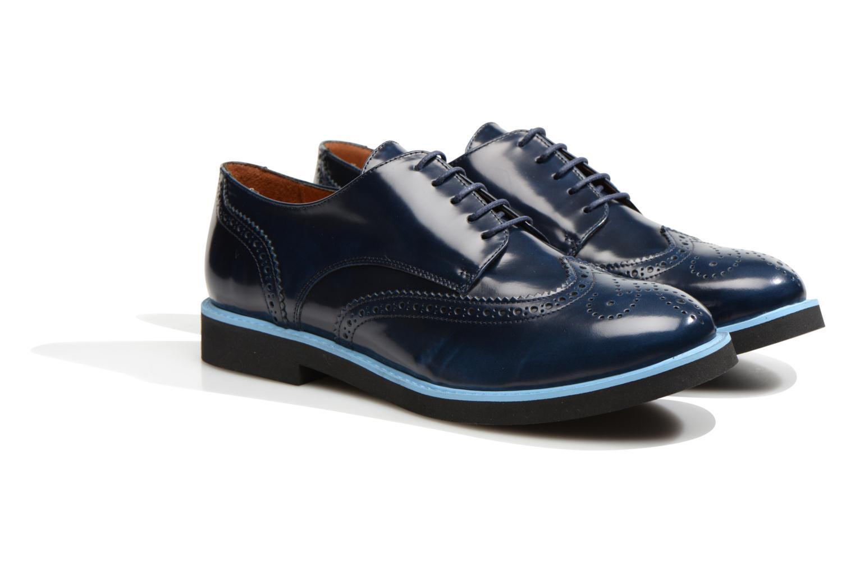 Zapatos con cordones Made by SARENZA Partygloo #3 Azul vistra trasera