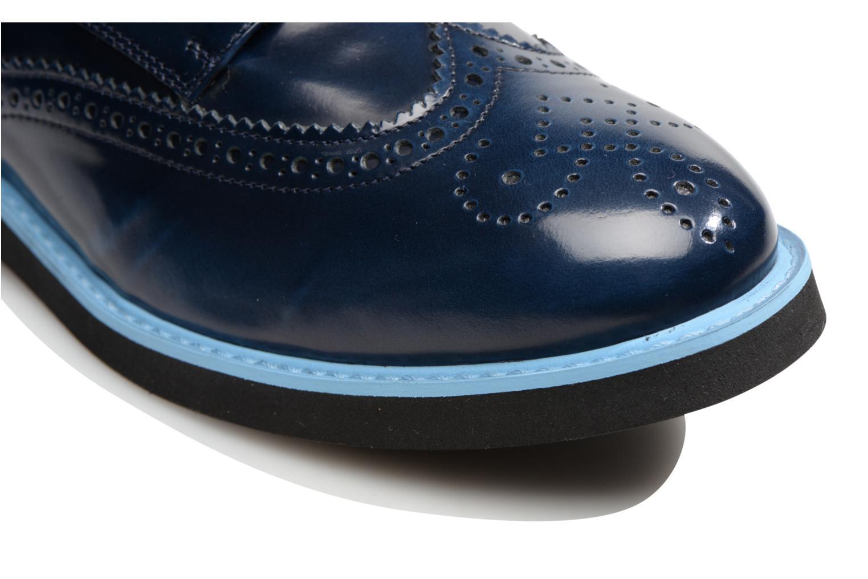 Zapatos con cordones Made by SARENZA Partygloo #3 Azul vista lateral izquierda