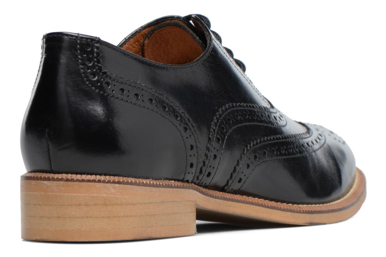 90's Girls Gang Chaussures à Lacets #5 Abamar noir semelle naturelle