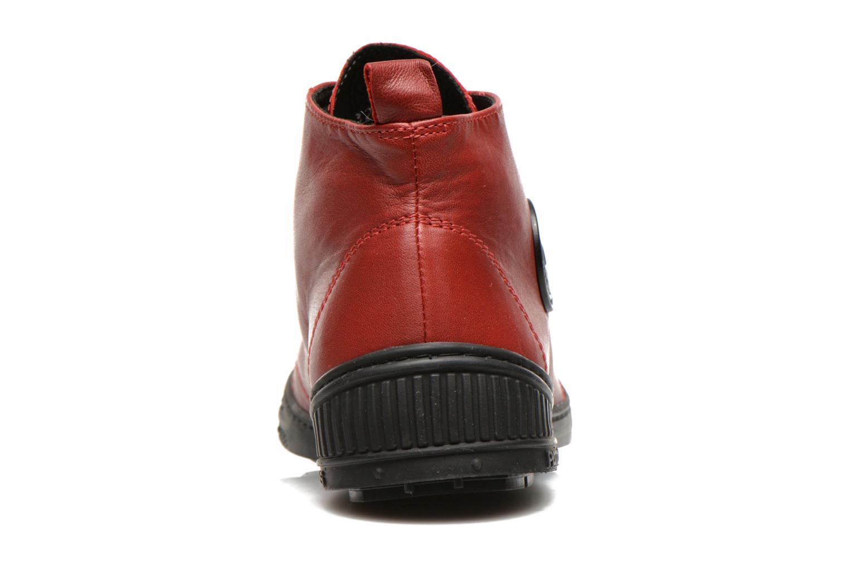Sneaker Pataugas RockerN rot ansicht von rechts
