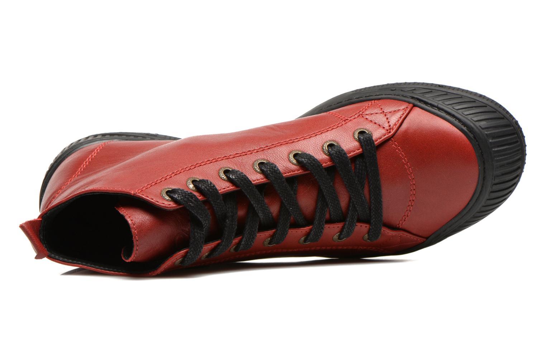 Sneaker Pataugas RockerN rot ansicht von links