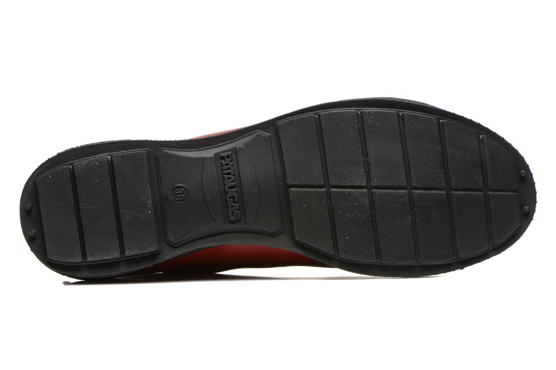 Sneakers Pataugas RockerN Rosso immagine dall'alto