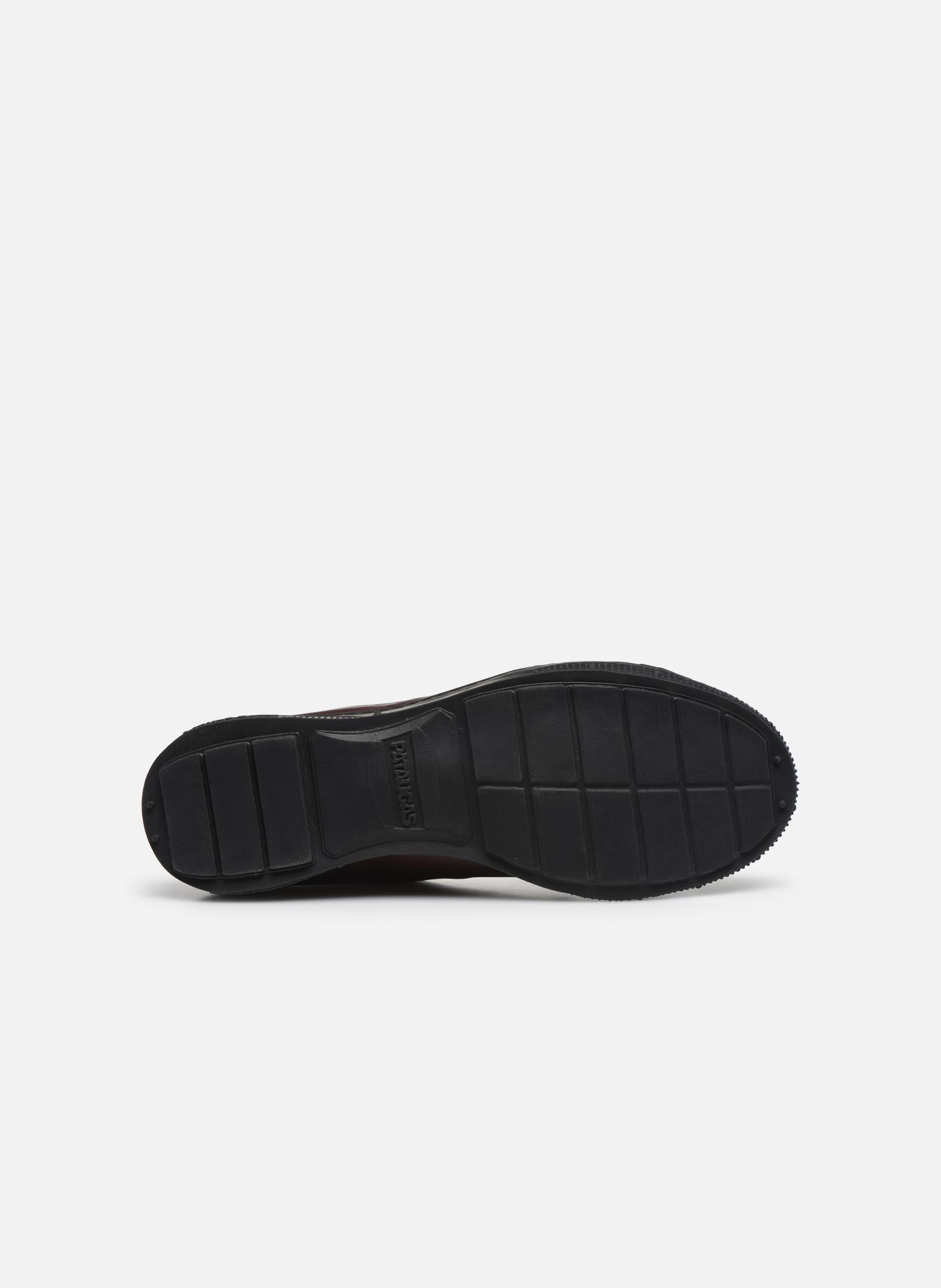 Sneaker Pataugas RockerN weinrot ansicht von oben