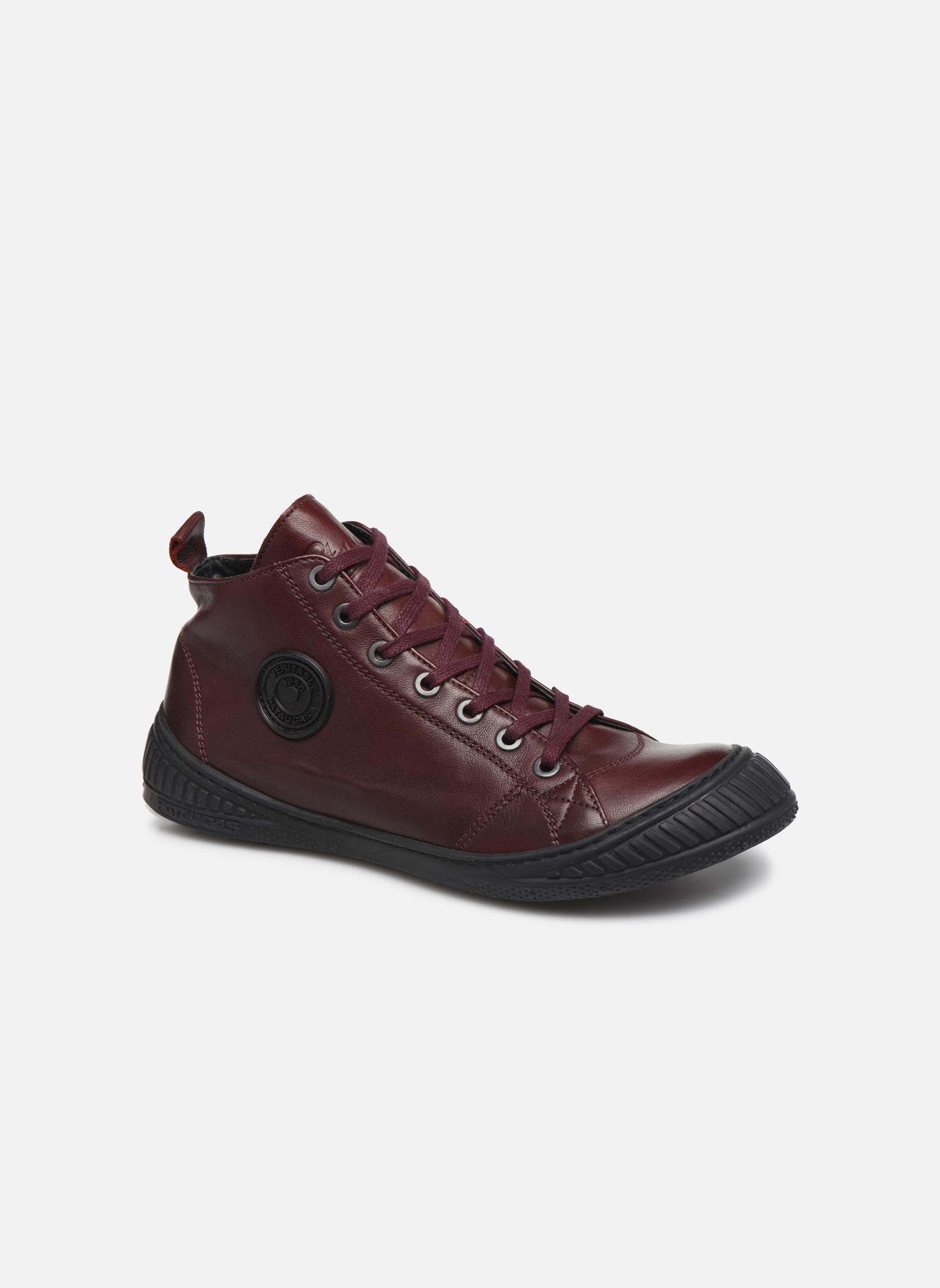 Sneakers Pataugas RockerN Bordeaux detail