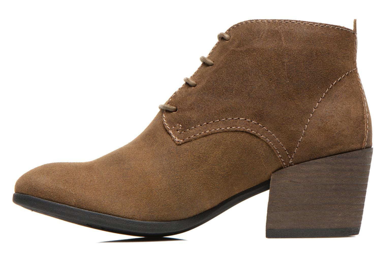 Boots en enkellaarsjes Madison Vechou Bruin voorkant