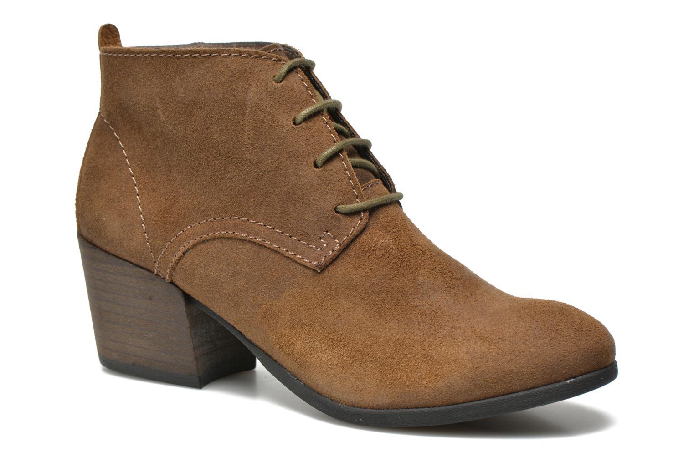 Boots en enkellaarsjes Madison Vechou Bruin detail