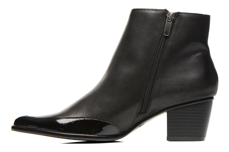 Bottines et boots Madison Ayanda Verni NOIRVo NOIR Noir vue face