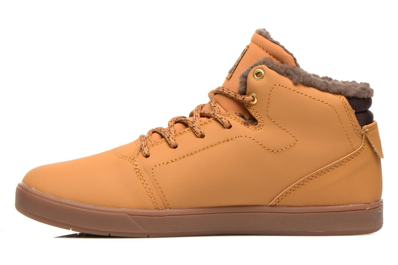 Sneaker DC Shoes CRISIS HIGH WNT beige ansicht von vorne