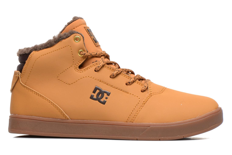 Sneaker DC Shoes CRISIS HIGH WNT beige ansicht von hinten