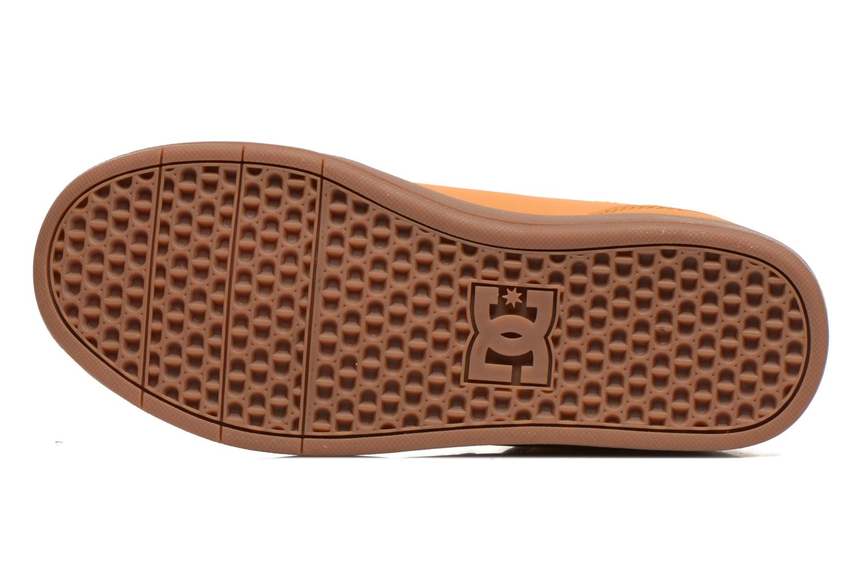 Sneaker DC Shoes CRISIS HIGH WNT beige ansicht von oben